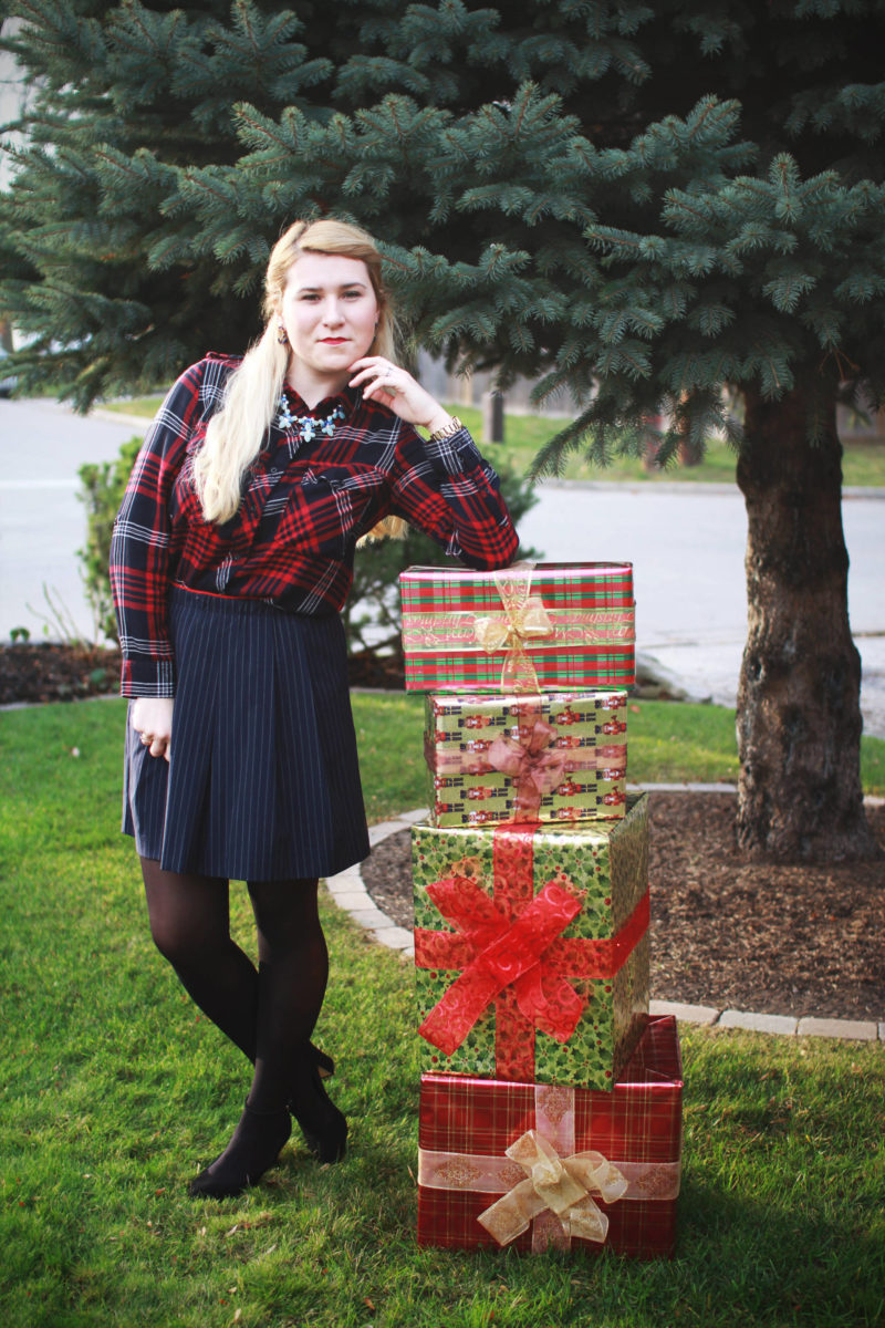 Preppy Christmas Outfit